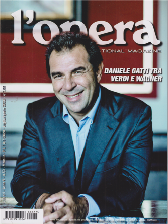L'opera international magazine - n. 50 - mensile - luglio - agosto 2020