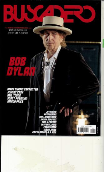 Buscadero - mensile n. 435 Luglio-Agosto 2020 Bob Dylan