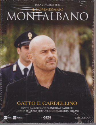 Luca Zingaretti in Il commissario Montalbano - Gatto e cardellino - n. 16 - 28/7/2020 - settimanale