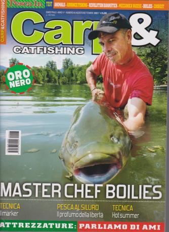 Carp & Catfishing - n. 43 - agosto - settembre 2020 - bimestrale
