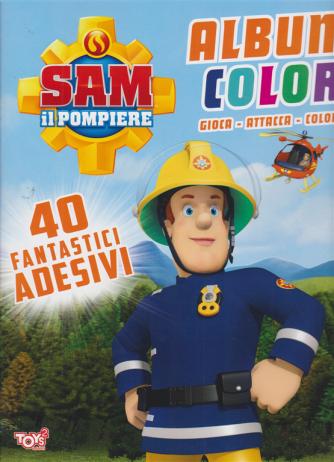 Toys2 Sticker - Sam il pompiere - Album color - n. 43 - bimestrale - 16 luglio 2020 -