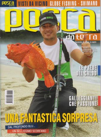 Pesca da Terra - n. 8 - agosto 2020 - mensile