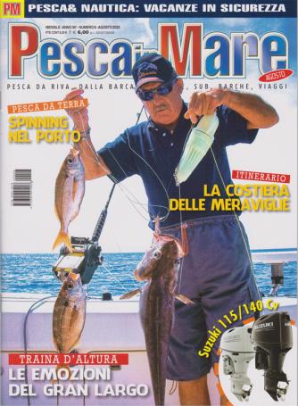 Pesca In Mare - n. 8 - mensile - agosto 2020 -