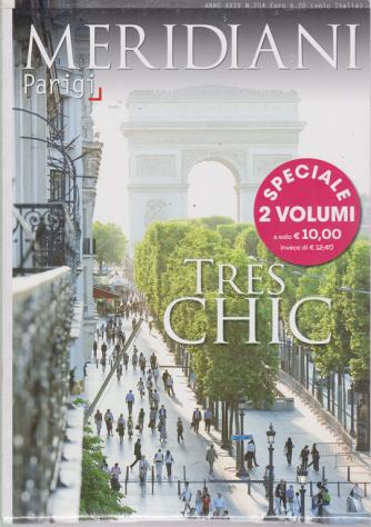 Meridiani Parigi + Meridiani Barcellona - 2 volumi - n. 204 - febbraio 2019 -