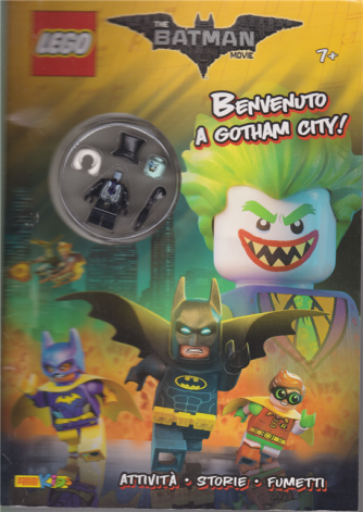 Lego Word - The Batman Movie - Benvenuto a Gotham City! - n. 3 - bimestrale - 1 agosto 2020 -