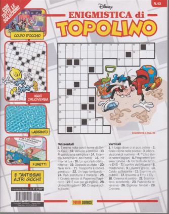 Enigmistica di Topolino - n. 43 - bimestrale - 1 agosto 2020
