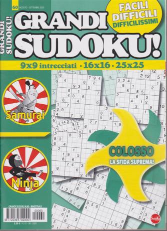 Grandi Sudoku - n. 60 - bimestrale - 1/8/2020 -