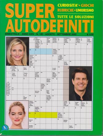 Super Autodefiniti - n. 120 - bimestrale - agosto - settembre 2020