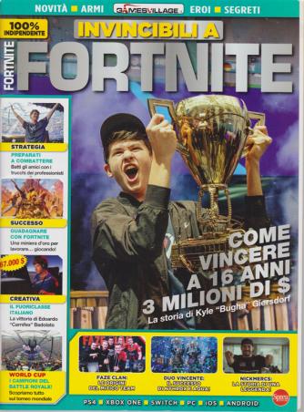 Invincibili a Fortnite - n. 3 - bimestrale - agosto - settembre 2020 -