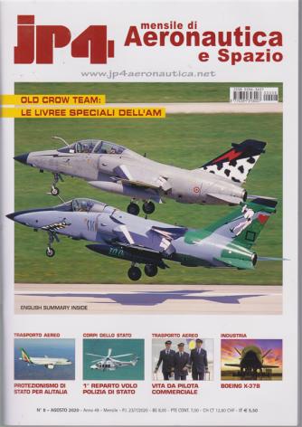 Jp4 - Mensile di Aeronautica e Spazio - n. 8 - agosto 2020 -