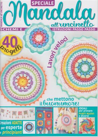 Motivi all'uncinetto - Speciale Mandala  all'uncinetto - n. 1 - bimestrale - agosto - settembre 2020 -
