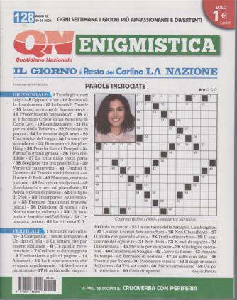Enigmistica - n. 128 - 10/8/2020 - settimanale