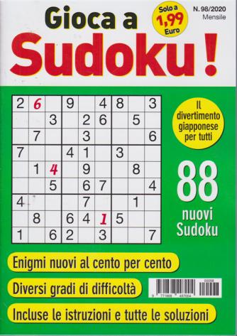 Gioca a Sudoku - n. 98/2020 - mensile