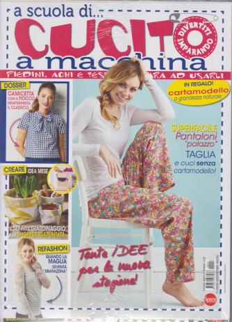 A scuola di ....cucito a macchina - n. 13 - bimestrale - agosto - settembre 2020 - 2 riviste