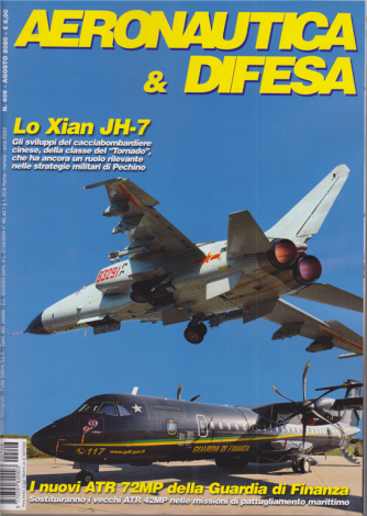 Aeronautica & Difesa - n. 406 - agosto 2020 - mensile