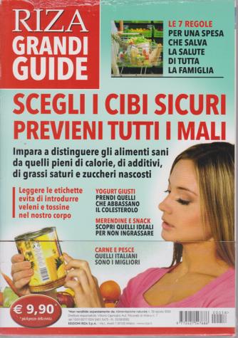 Alimentazione Naturale - Riza Grandi guide - Scegli i cibi sicuri previeni tutti i mali - n. 58 - agosto 2020 -