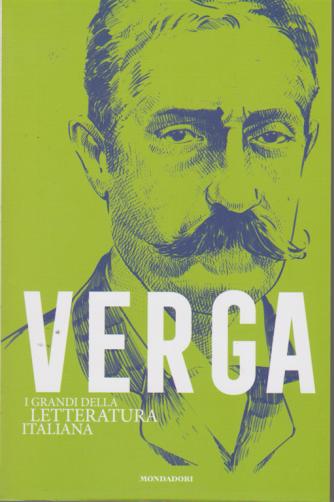 I grandi della letteratura italiana - Verga - n. 15 - settimanale - 4/8/2020 -