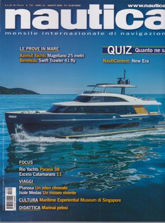 Nautica - n. 700 - agosto 2020 - mensile