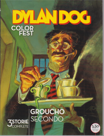 Dylan Dog Color Fest - Groucho secondo - n. 34 - agosto 2020 - trimestrale