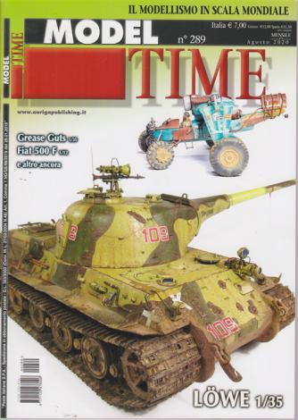 Model Time - n. 289 - mensile - agosto 2020