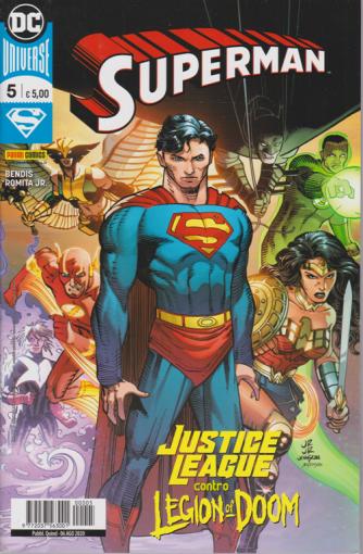 Superman -n. 5 - Justice league contro legion of Doom - quindicinale - 6 agosto 2020