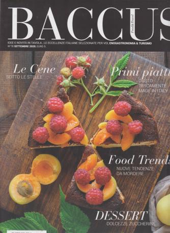 Baccus - Food & Travel - n. 78 - settembre 2020 - bimestrale