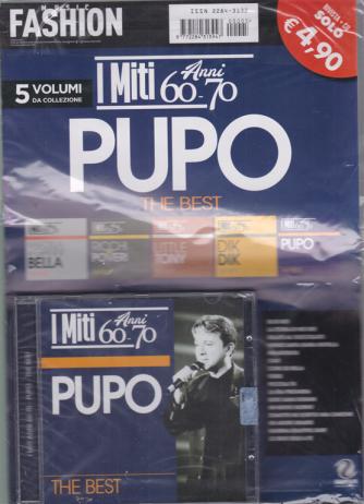 Music Fashion Var.94 - I miti - Anni 60-70 - Pupo the best - rivista + cd -