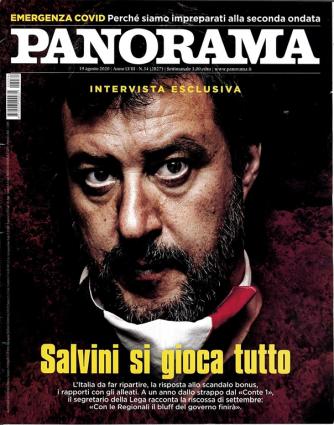Panorama settimanale n. 34 - 19 Agosto 2020