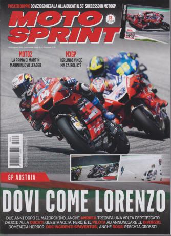 Motosprint - n. 33 - settimanale - 18/24 agosto 2020
