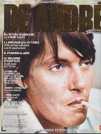 Vinile Monografie Extra - Fabrizio De Andrè - n. 1 - bimestrale - agosto - settembre 2020