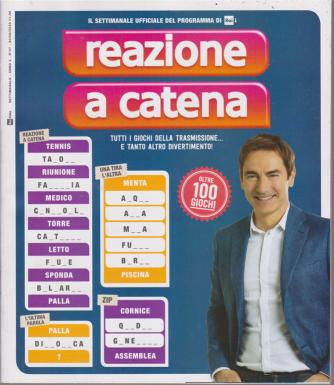 Reazione a catena - n. 7 - settimanale- 20/8/2020