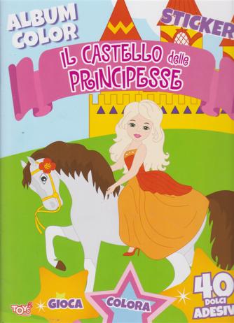 Toys2 Color & Stickers - Album color - Il castello delle principesse - n. 46 - bimestrale - 20 agosto 2020 -