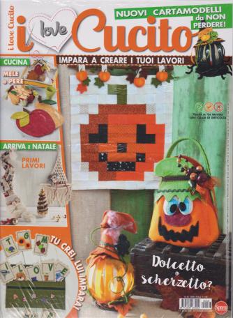 I Love Cucito + Crea bambole & pupazzi - n. 36 - bimestrale - settembre - ottobre 2020 - 2 riviste