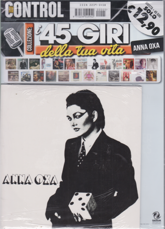 Saifam Music Control Var 94 - I 45 giri della tua vita - Anna Oxa - rivista + 45 giri