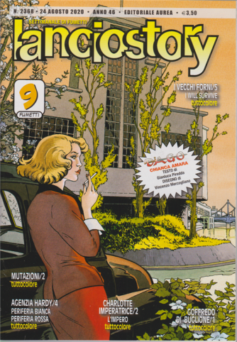 Lanciostory - n. 2368 - 24 agosto 2020 - settimanale di fumetti