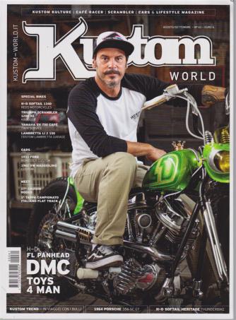 Kustom World - n. 61 - agosto - settembre 2020 - bimestrale