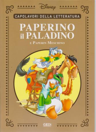Capolavori della letteratura - Paperino il paladino e Paperin Meschino - n. 24 - 22/8/2020 - settimanale