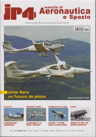 Jp4 - Mensile di Aeronautica e Spazio - n. 9 - settembre 2020 - mensile