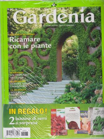 Gardenia + in regalo 2 bustine di semi a sorpresa - n. 437 - settembre 2020 - mensile