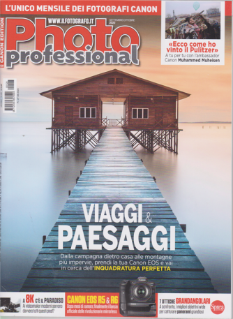 Professional Photo - n. 128 - mensile - settembre - ottobre 2020
