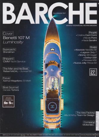 Barche - n. 9 - september 2020 - mensile - italiano -  inglese
