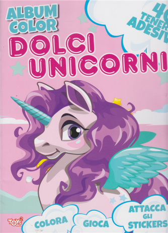 Toys2 Serie Rosa - Album color - Dolci unicorni - n. 87 - bimestrale - 27 agosto 2020 -