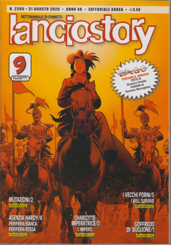 Lanciostory - n. 2369 - 31 agosto 2020 - settimanale di fumetti