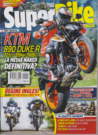 Superbike Italia - n. 9 - mensile - settembre 2020