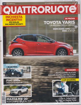 Quattroruote + Dossier usato - n. 781 - settembre 2020 - mensile - 2 riviste