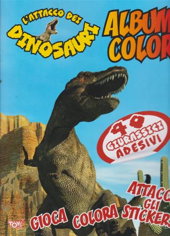 Toys2 Comics - L'attacco dei dinosauri - Album color - n. 44 - bimestrale - 20 agosto 2020 -