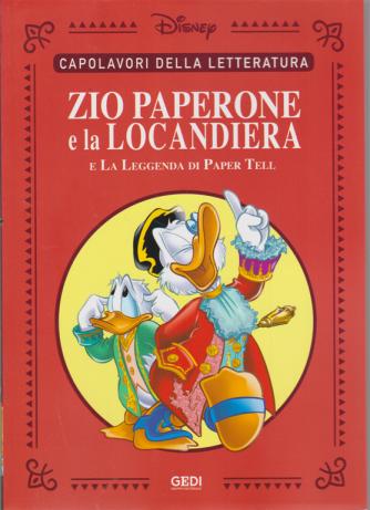 Capolavori della letteratura - Zio Paperone e la locandiera e la leggenda di Paper Tell - n. 25 - 29/8/2020 - settimanale