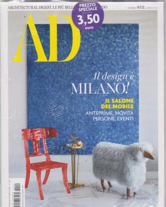 Ad-Architectural + Ad outdoor - n. 452 - aprile 2019 - mensile - 2 riviste