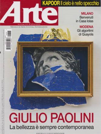 Arte - n. 565 - settembre 2020 - mensile