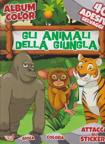 Toys2 Gold - Album color - Gli animali della giungla - n. 53 - bimestrale - 27 agosto 2020 -